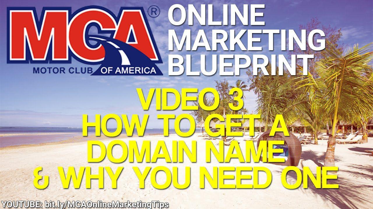 Mca online marketing blueprint 3 domain names why you need one mca online marketing blueprint 3 domain names why you need one for your mca malvernweather Gallery