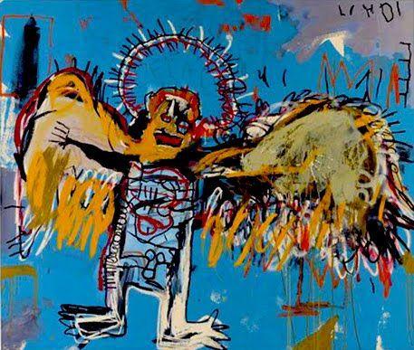 Canvas Wall Art Untitled Fallen Angel Jean Michel Basquiats