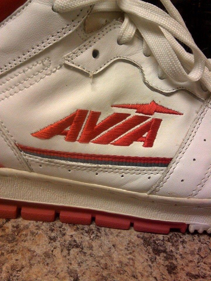 Vintage Avia 830 Basketball Shoes Sz 13   eBay   High Top ...