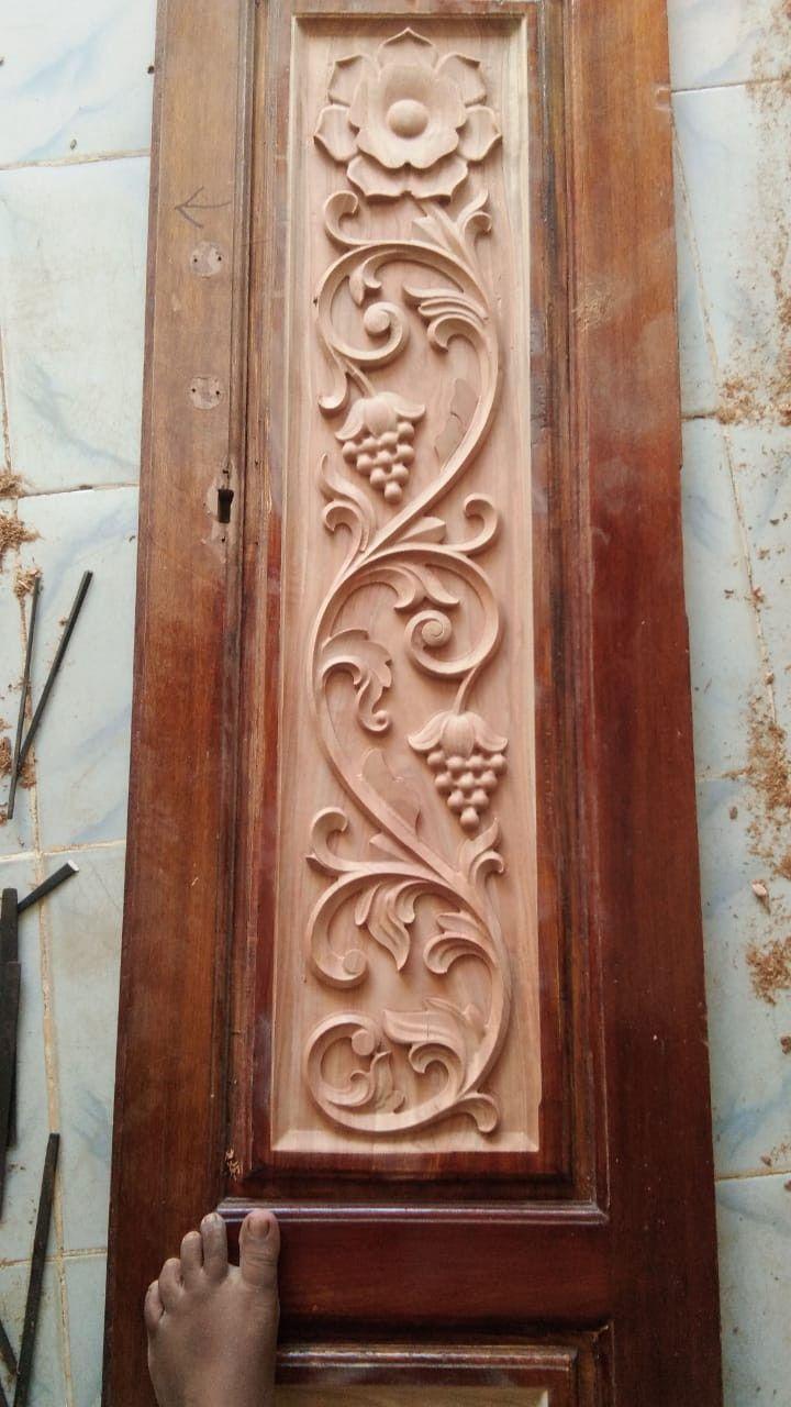Bavas Wood Works Pooja Room Door Frame And Door Designs: Pin By Vishwakarmaart +918421146457 On Cnc Wood Work
