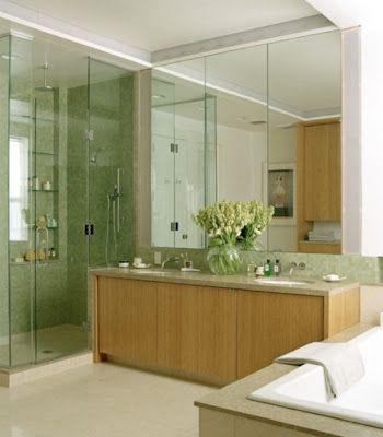 Color VERDE para el Cuarto de Baño   Cuarto de baño, Baños ...
