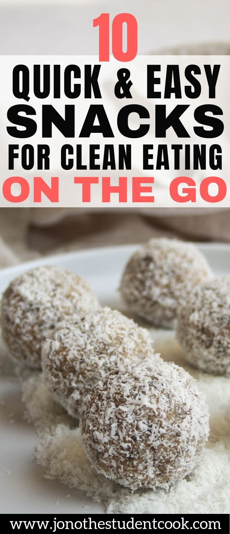 10 Quick & Easy Snacks For Clean Eating On The Go images