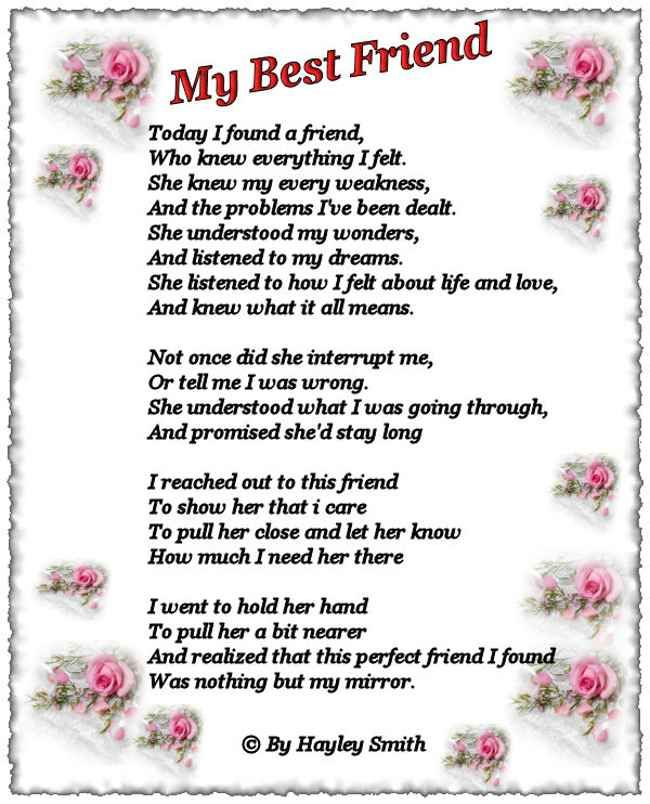 happy birthday to a beautiful friend poem | Happy Birthday ...