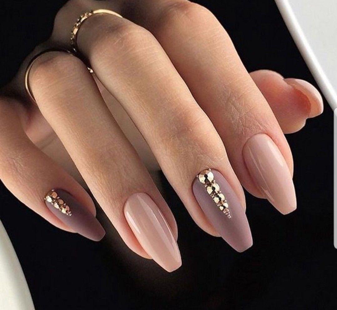 30 Amazing Rhinestone Nail Art Designs Ecstasycoffee: Pin By Lara Hana On Nail Design For Long Nails
