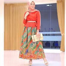Baju Muslim Batik Untuk Kerja Dian Pelangi Model Baju Batik