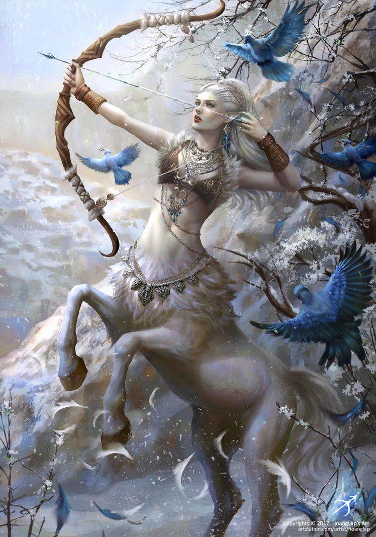 Erotic winged centaur pic 731