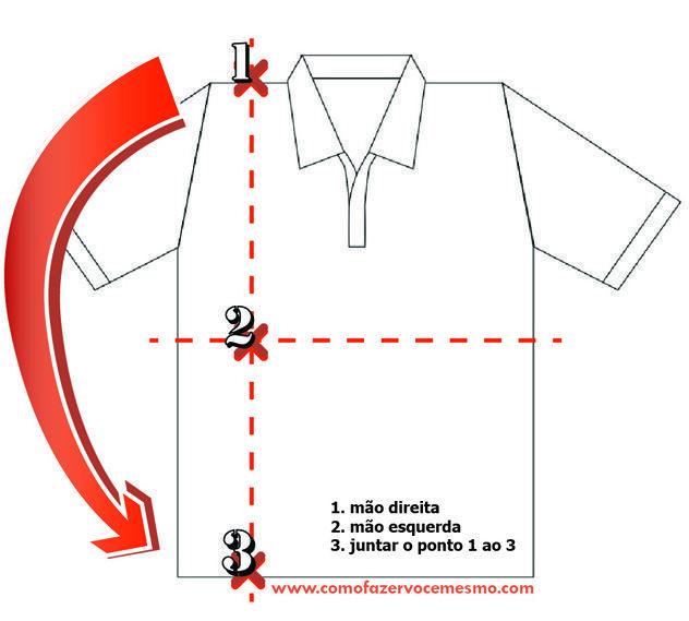 Preferir Congeladas Para Aumentar Dobrar A Camisa Em 2 Segundos Hearthesun Com