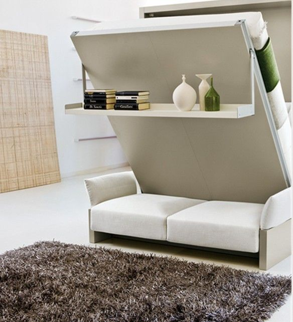 Hidden Sofa Bed Murphysofa Smart Furniture Wall Beds Transformable Tables And Thesofa