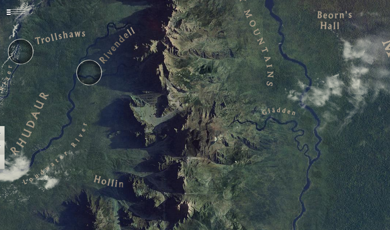 Take a tour of Middle-earth with Google Maps<<<Wait, you can do this ...