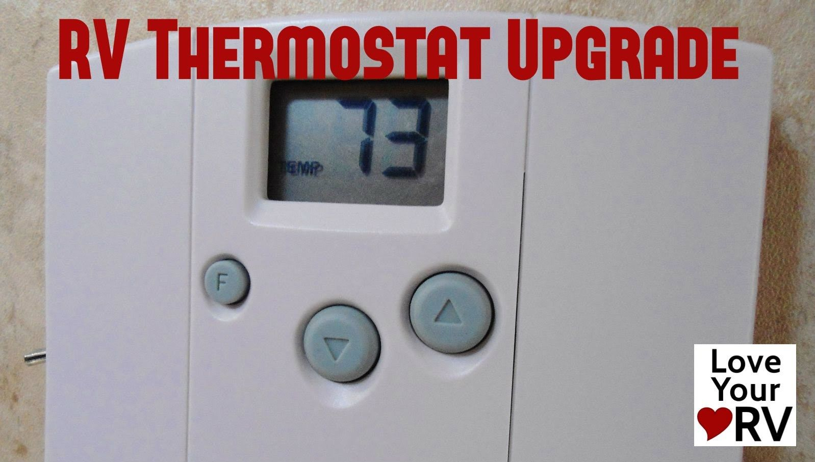 Hunter 42999b Rv Thermostat Upgrade
