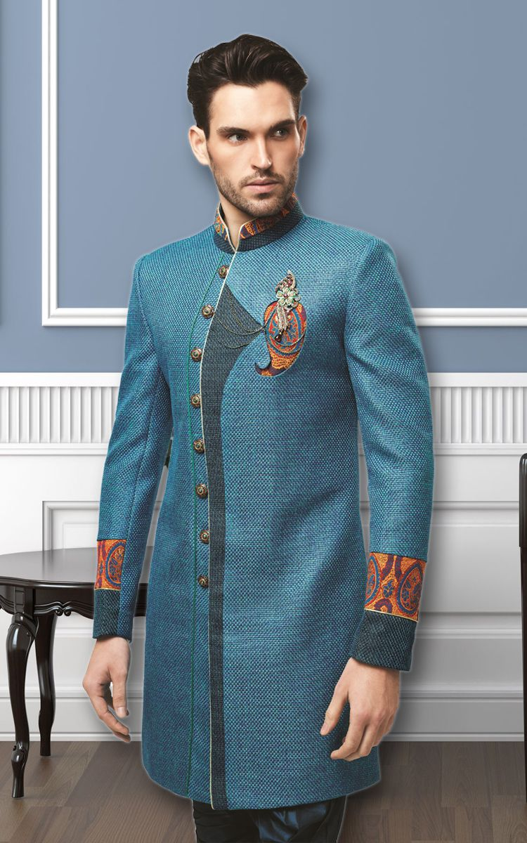 Pin by Ethnic Monarch on Indo Westerns | Pinterest | Men blazer and ...