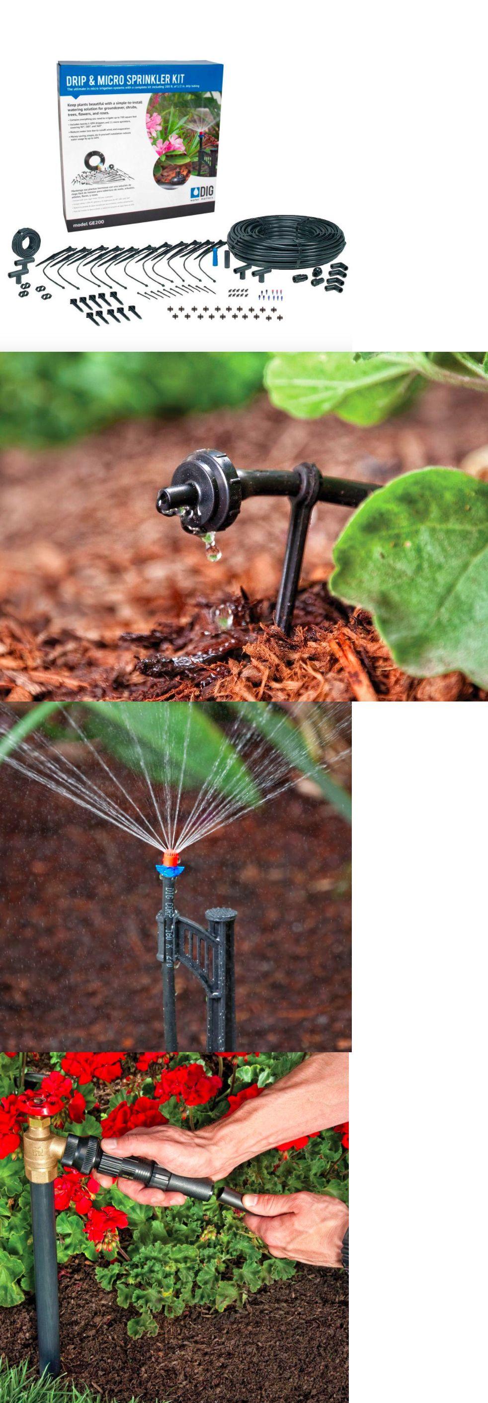 Drip Irrigation 139909: Dig Drip Micro Sprinkler Water ...