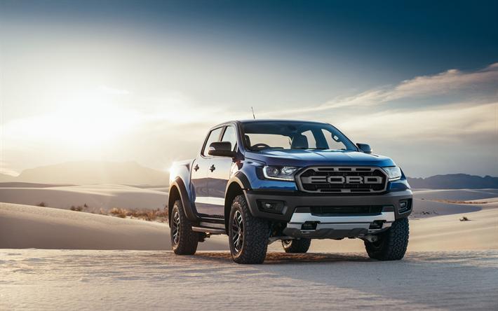 Download Wallpapers Ford Ranger Raptor 2019 Cars 4k Offroad
