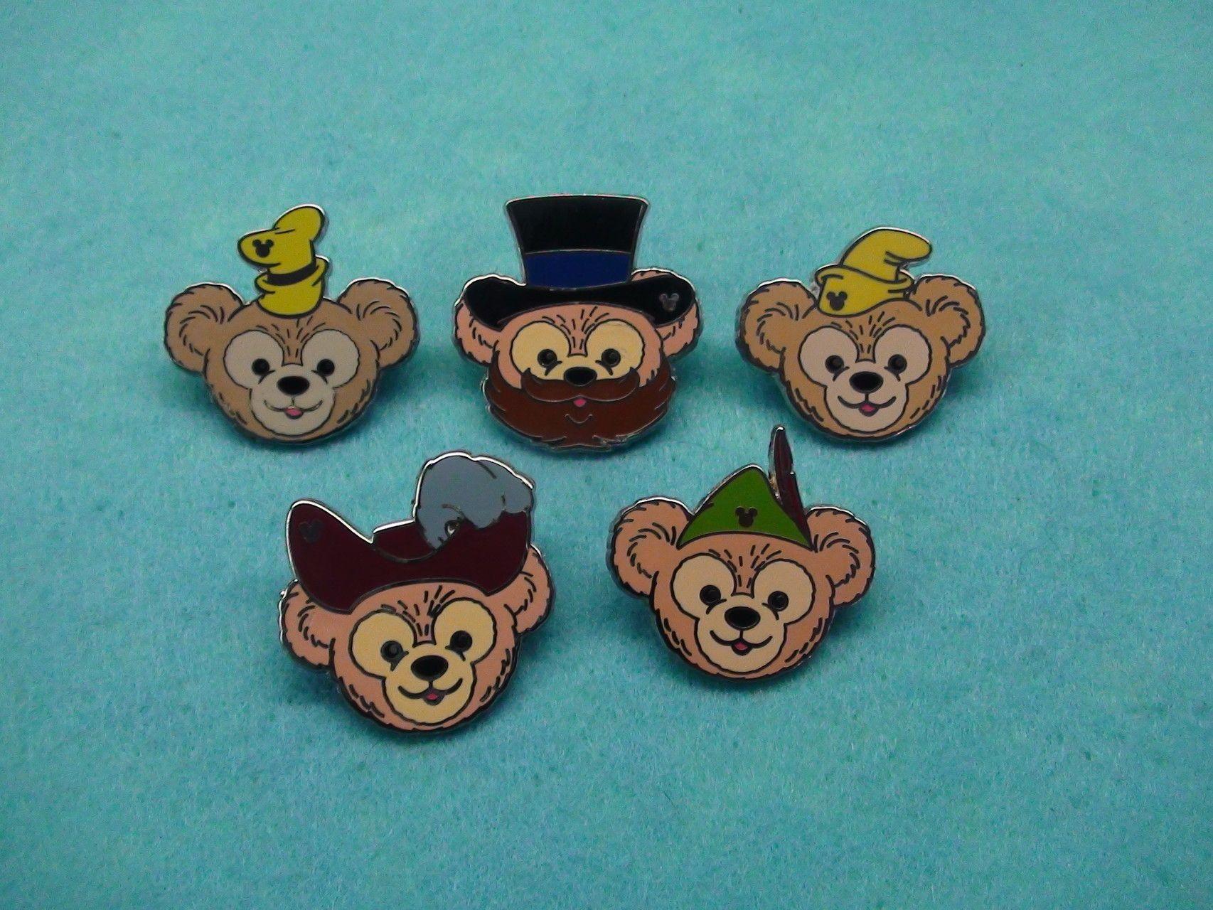 Duffy/'s Hats Dumbo Hidden Mickey Disney Lapel Pin