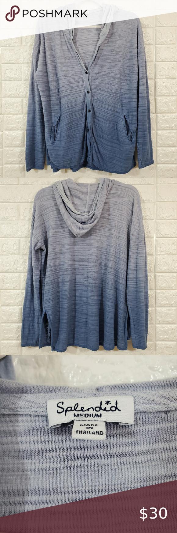 Splendid Dye Tie Hoodie Sweatshirt Size M Sweatshirts Hoodie Hoodies Sweatshirts [ 1740 x 580 Pixel ]