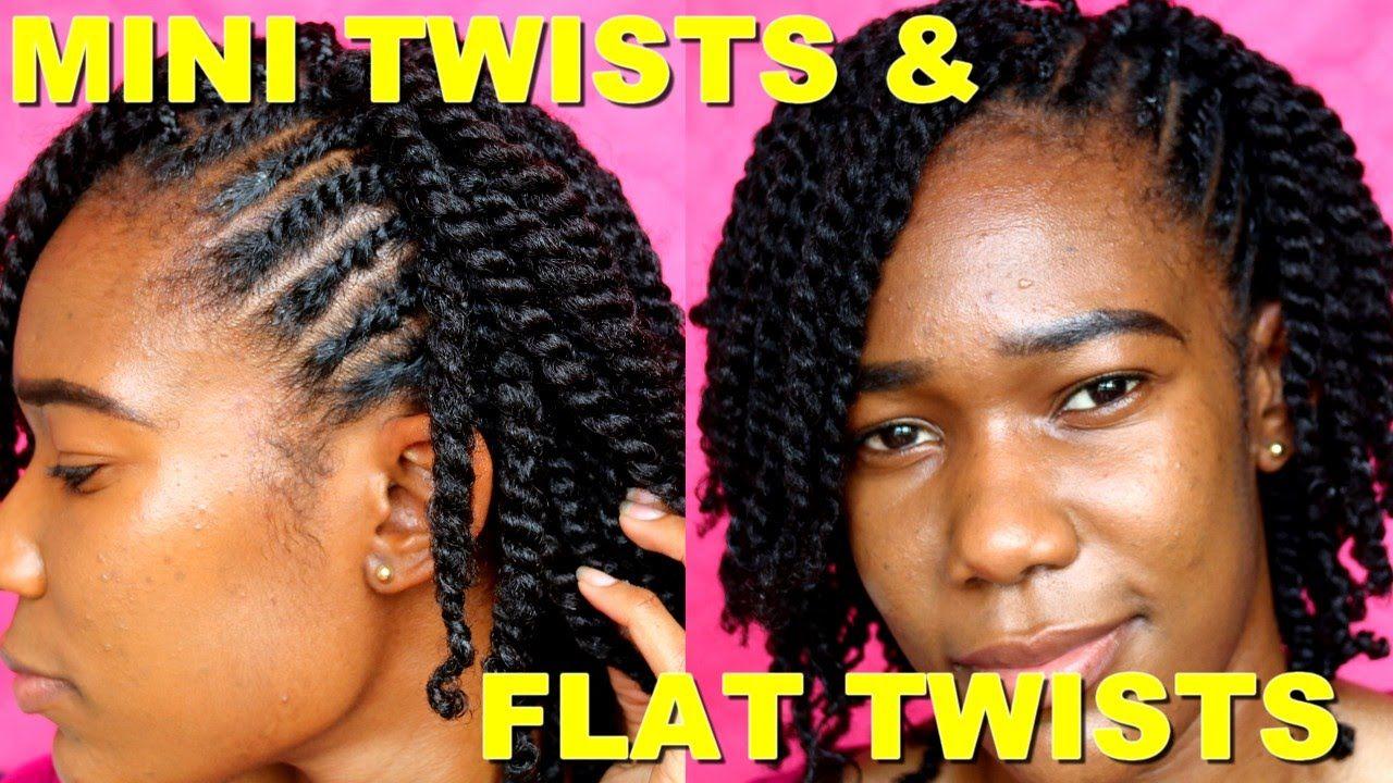 Mini Twists On Short Medium Length Natural Hair Jah Nette Natural Hair Styles Mini Twists Short Natural Hair Styles
