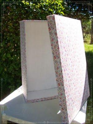 Caja para guardar vestido de novia