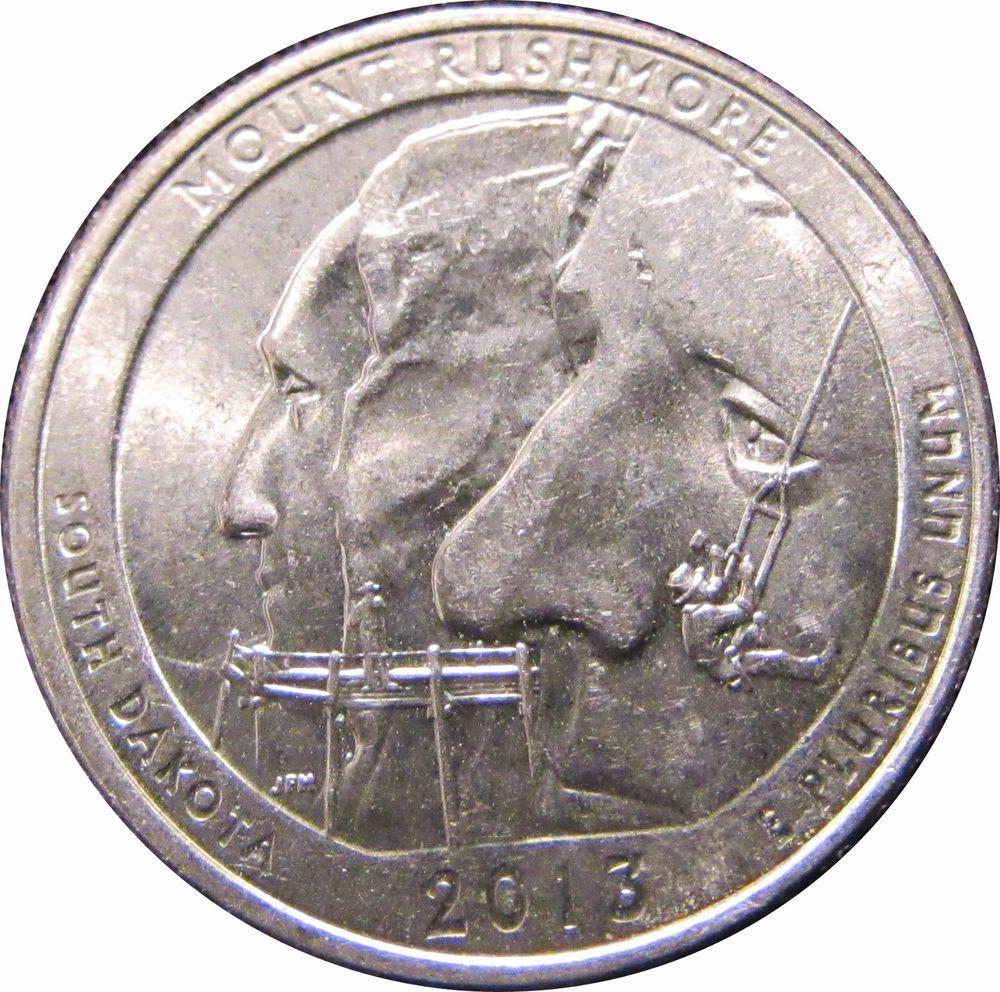 2013 South Dakota D Error Coin Double Die Variety Reverse Washington