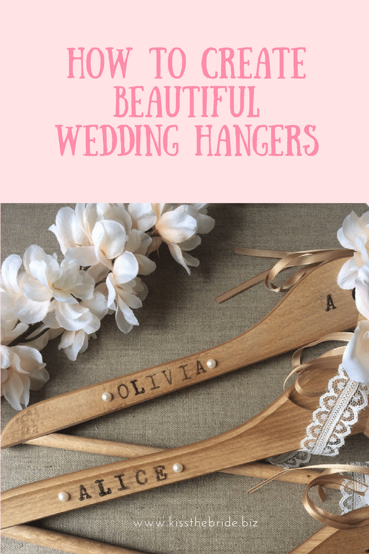 Make Your Own Fabulous Wedding Hangers An Easy And Cheap Craft To
