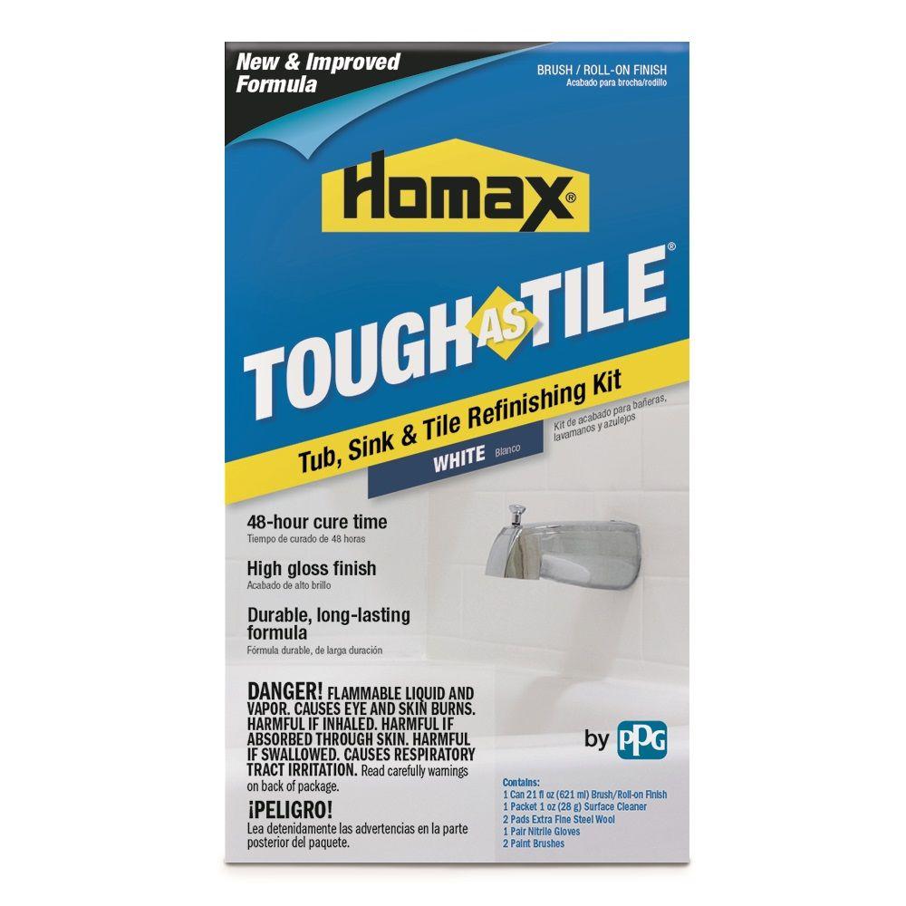 Homax® Tough As Tile® Brush On Tub, Sink & Tile Refinishing Product ...