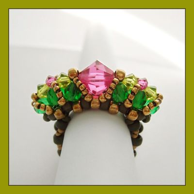 Kronleuchterjuwelen Glasperlenschmuck -   Кольца   Pinterest ...