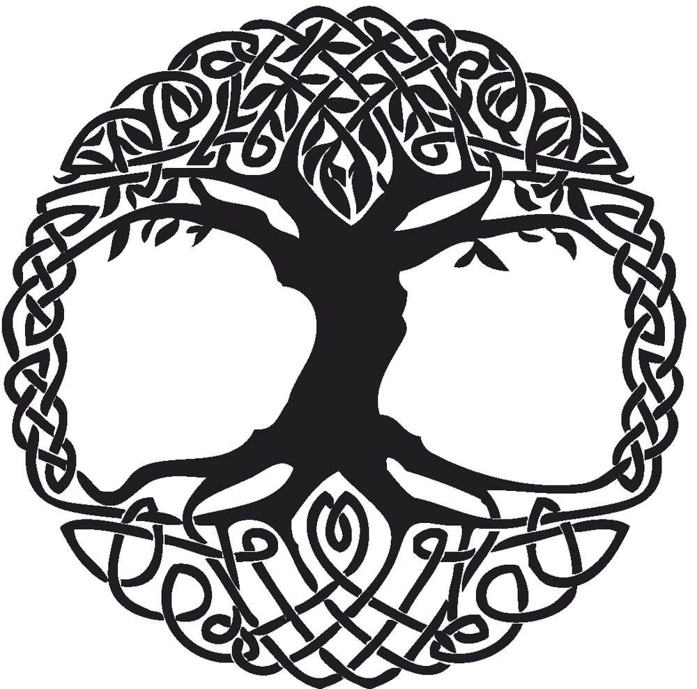 Black celtic knot tree tattoo stencil art journal inspirations black celtic knot tree tattoo stencil amipublicfo Gallery
