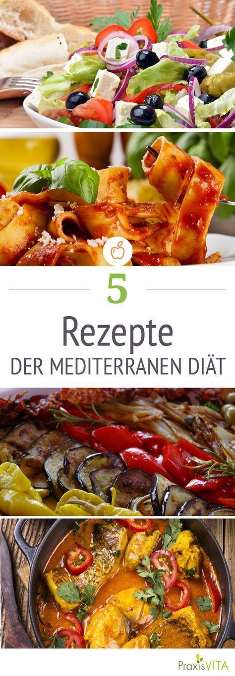 Die mediterrane Diät fünf gesunde und leckere Rezepte Leckere - leichte mediterrane k che rezepte