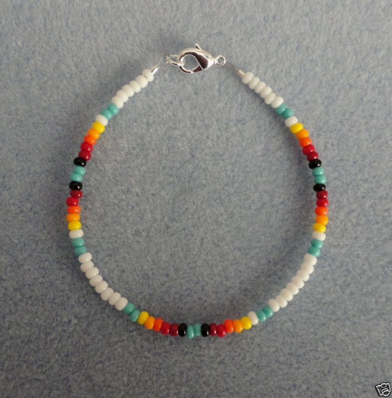 Mens Native American Beads: This Native America Beaded Bracelet Is The Perfect