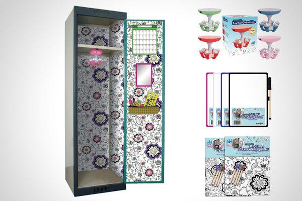 Locker Designs Ideas 5 easy locker decoration ideas Pinterest Maailman Ktevin Ideakuvasto