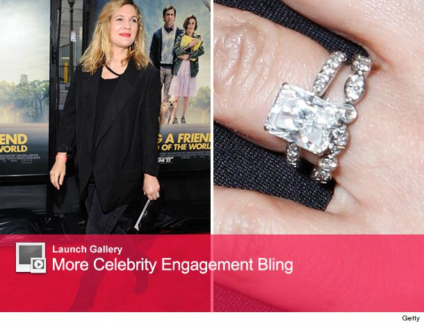 Newlywed Drew Barrymore Flashes Her Wedding Bling Toofab Com Bling Wedding Celebrity Jewelry Bling