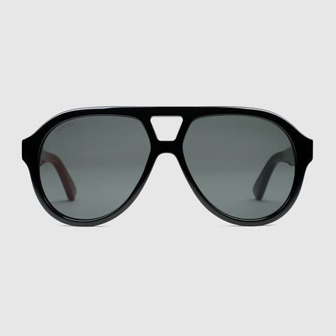26fcb214a55 GUCCI Rectangular-Frame Acetate Sunglasses.  gucci  men s square   rectangle