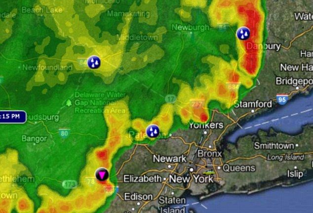 New York Weather Map Severe weather map New York State (With images) | Recreation area