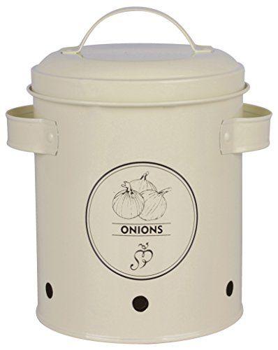 Esschert Design De C2069 Oignon Boite De Rangement Rangement Pour Pommes De Terre Stockage Oignon Et Conteneurs De Stockage D Aliments