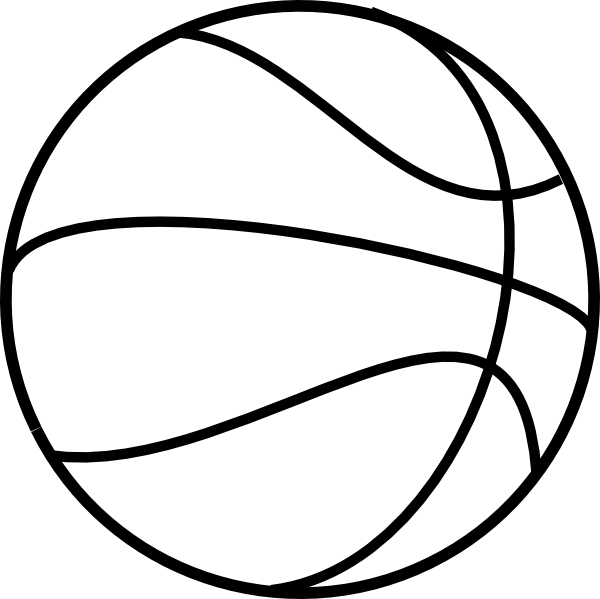 photograph about Printable Basketball identified as PRINTABLE No cost BASKETBALL basketball coloring internet pages 3