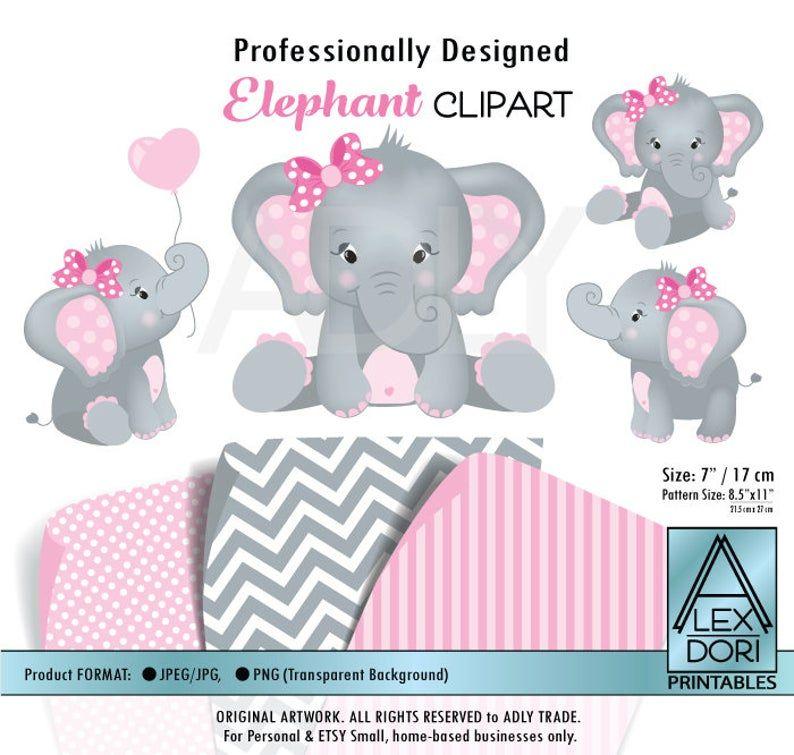 Girl Elephant Shower Baby Elephant Elephants Clip Art Png Etsy In 2020 Elephant Clip Art Baby Girl Elephant Baby Girl Art