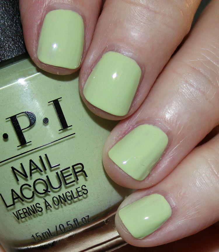 Opi How Does Your Zen Garden Grow Spring Nail Colors Opi Nail Polish Colors Nails