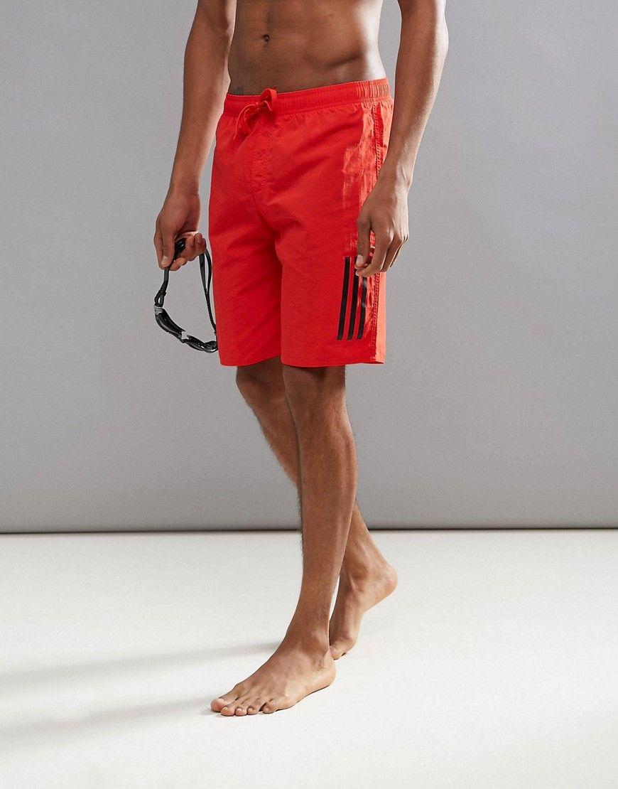 dcb1502e99 ADIDAS ORIGINALS ADIDAS SWIM SHORTS - RED. #adidasoriginals #cloth ...