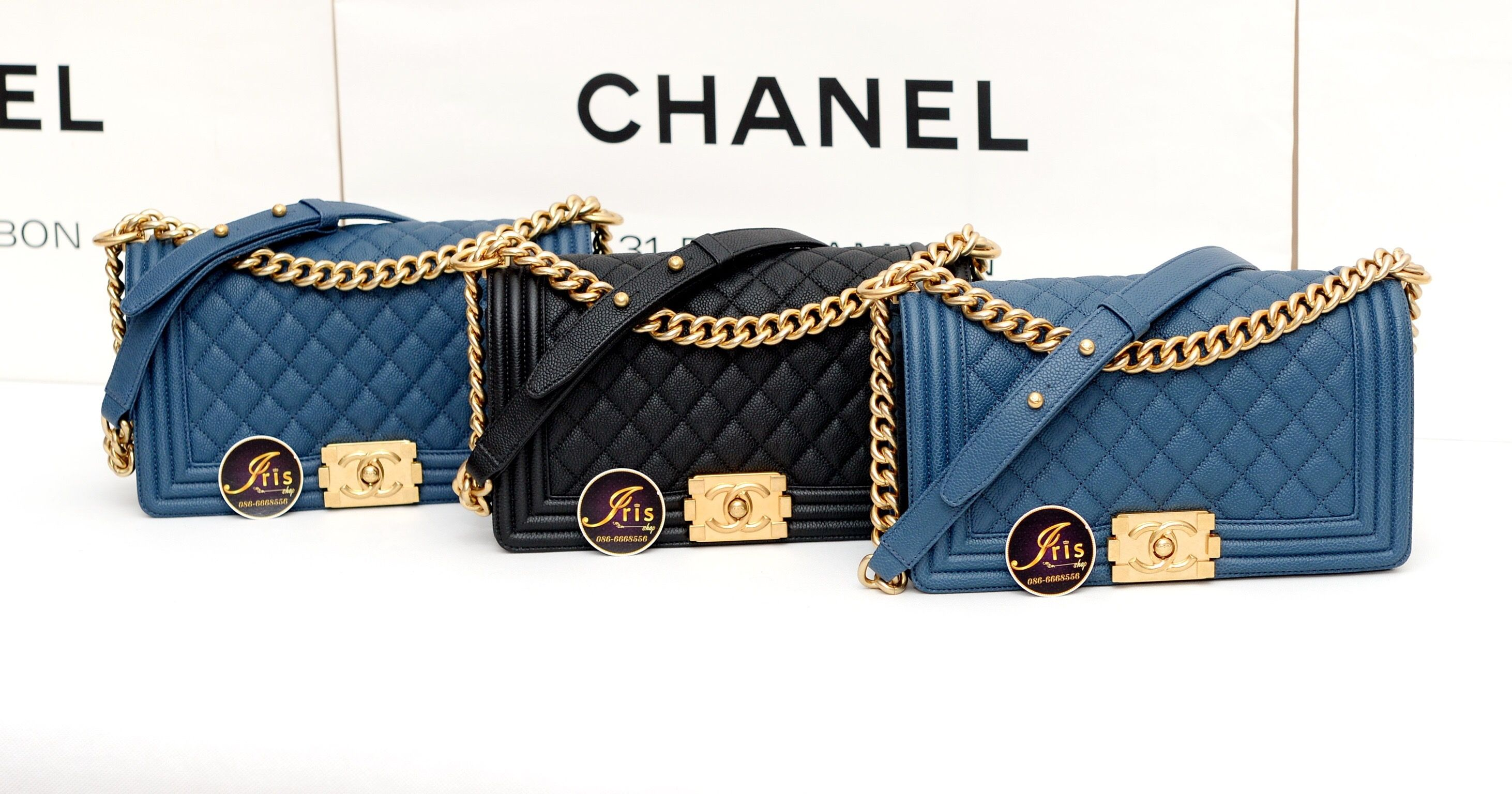 22aaf24cc4e8 กระเป๋า Chanel Boy 10
