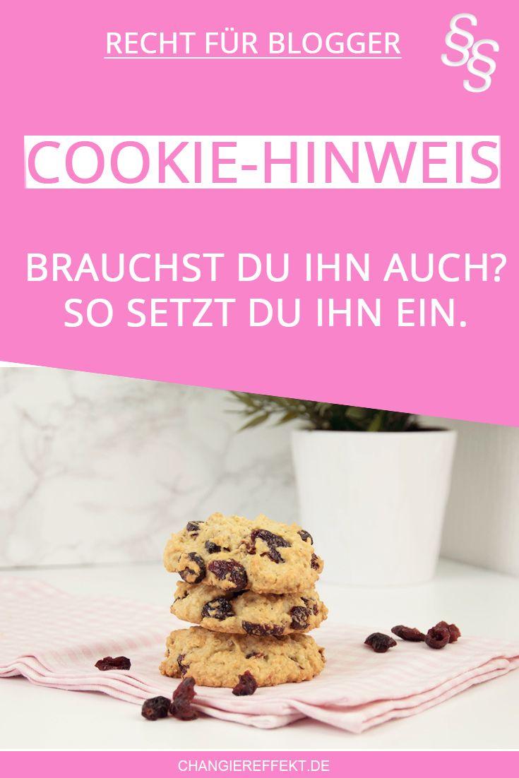 Wie Du Die Cookie Richtlinie Im Blog Umsetzt Infografik Blog Blog Tipps Bloggen