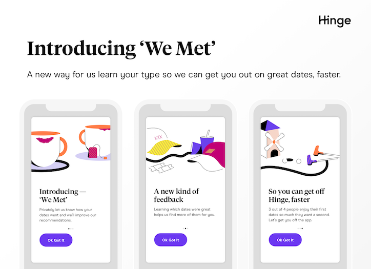 Dating app Hinge gets a makeover, asks users to use it