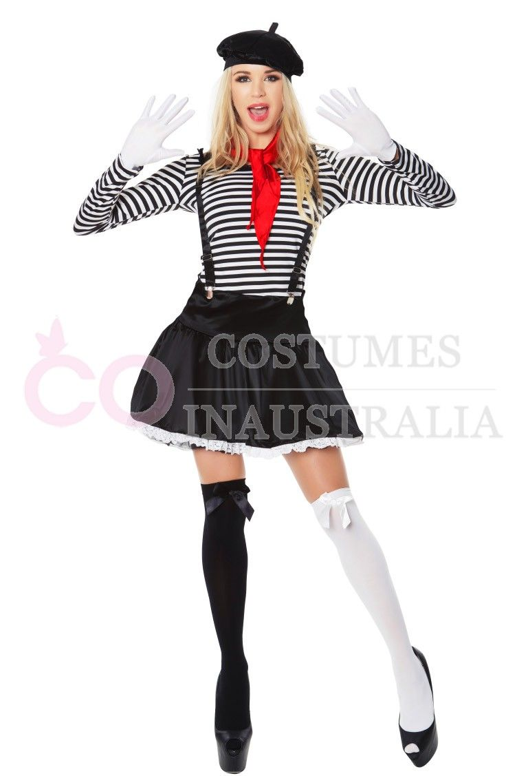 Adult Creepy Zombie Clown Costume Sexy Scary Jester Ladies Halloween Fancy Dress StraßEnpreis Clothes, Shoes & Accessories
