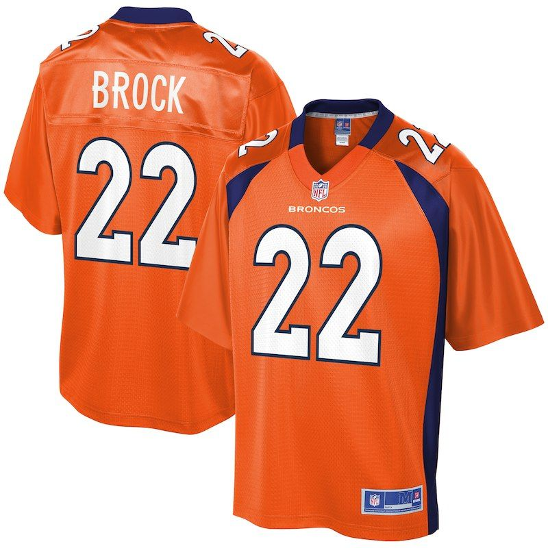 d66b2035 Tramaine Brock Denver Broncos NFL Pro Line Youth Player Jersey ...