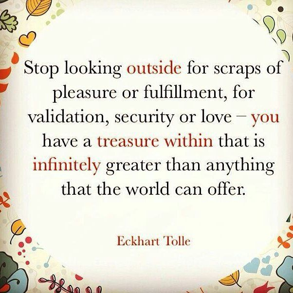 Image result for the treasure is within quotes