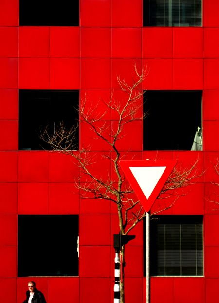 color photography, red capture