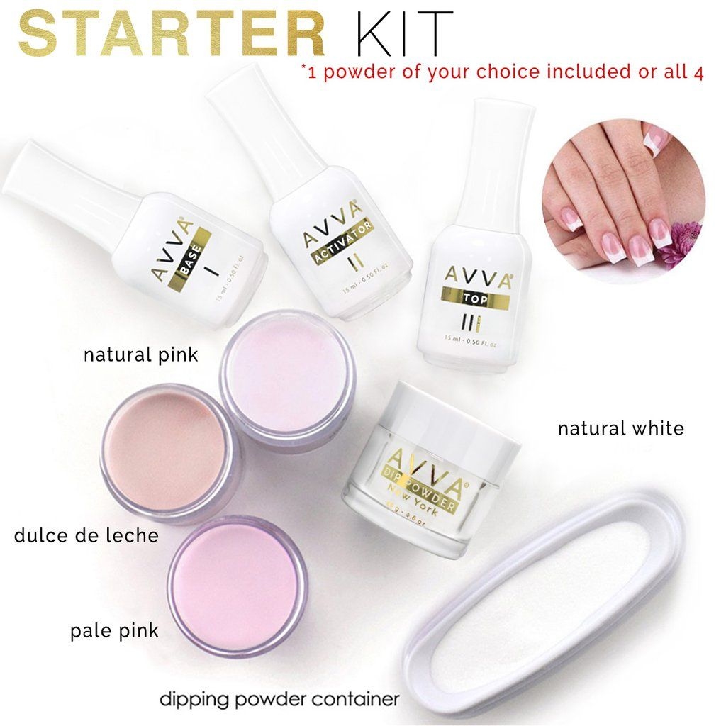 AVVA DIY Dip Powder Starter Kit (With images) Dip powder