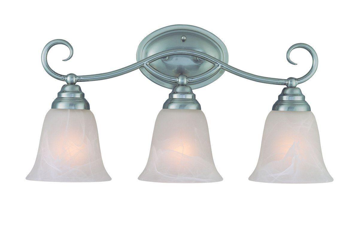 Jeremiah Lighting 25003 Cordova 3 Light Bathroom Vanity Light   21 Inches  Wide