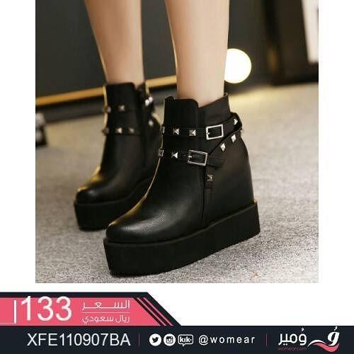 احذية عصرية انيقة حذاء بناتي اناقة كشخة ستايل جزمة شوز دوام جامعة جزم شوزات جزمات فاشن متجر متاجر Boots For Short Women Boots Riding Boots