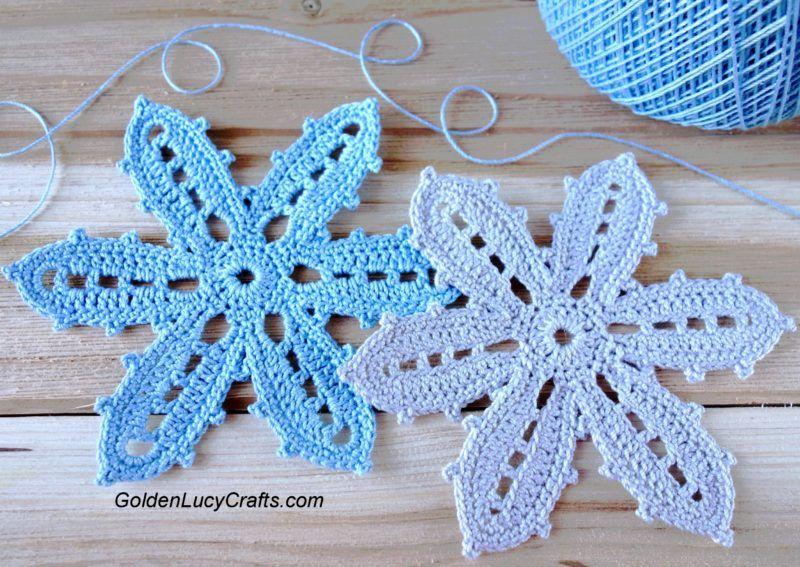 Irish Crochet Flower, Irish Lace, Irish Crochet Motif - GoldenLucyCrafts
