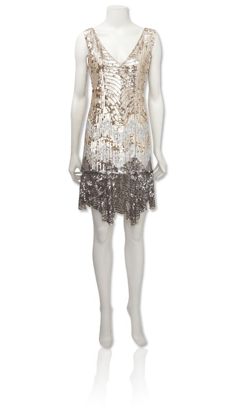 20e01e60ab7e Beautiful 1920's inspired dress. Oh, the perfect setting comes to mind for  this... <3. oasis sequined flapper ...