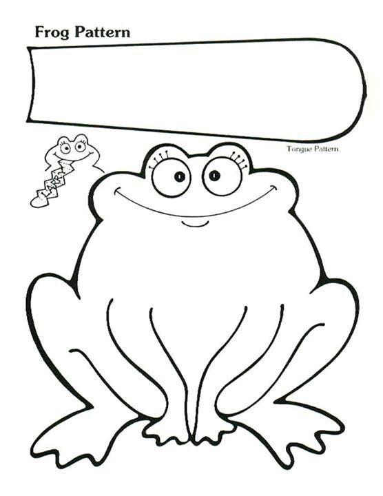 Kesme Yapıştırma Kurbağa Etkinliği Kesme Boyamakalıplı Pinterest